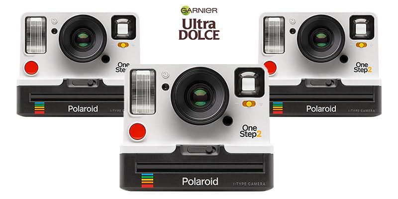 vinci Polaroid One Step 2 con Garnier Ultra Dolce