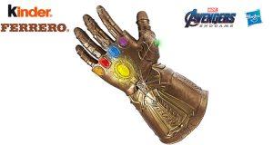 Con Ferrero ed Esselunga vinci il guanto di Thanos