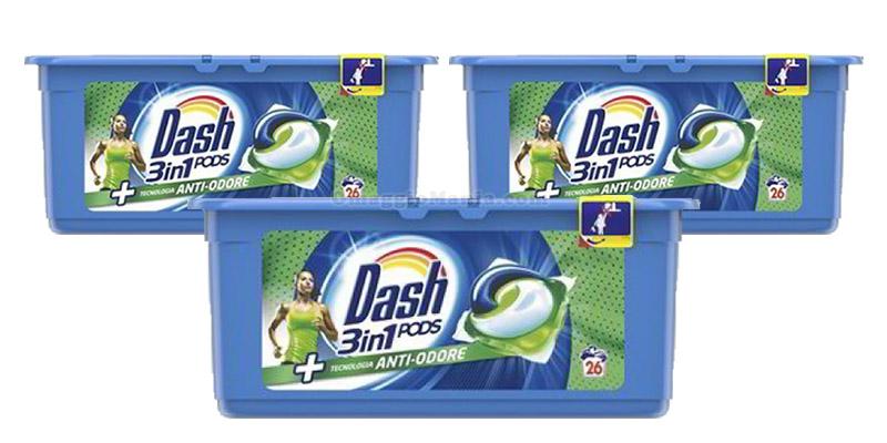 Dash Pods 3in1 anti-odore