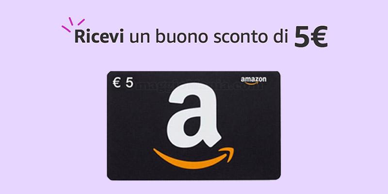 Prime Video buono Amazon 5 euro