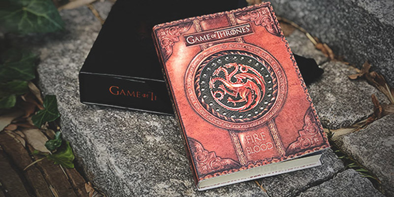 block notes Game of Thrones