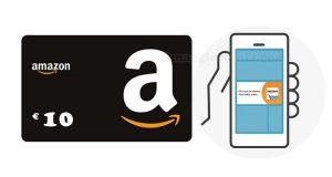 buono 10 euro con app Amazon