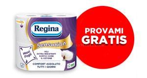 carta igienica Regina Sensation Provami gratis