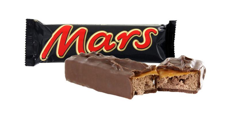 cioccolato Mars