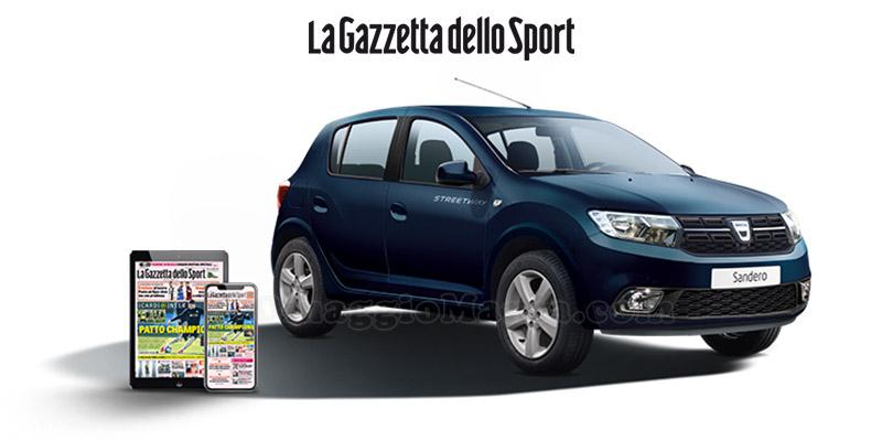 concorso Gazzetta Dacia Best Value Player Game