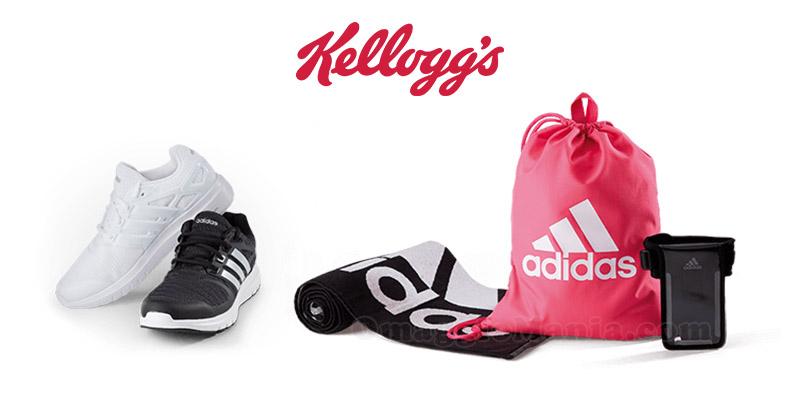 concorso Kellogg's Powering You. Fai sport con Adidas