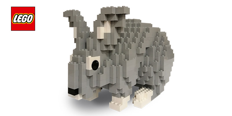 coniglietto LEGO di Pasqua