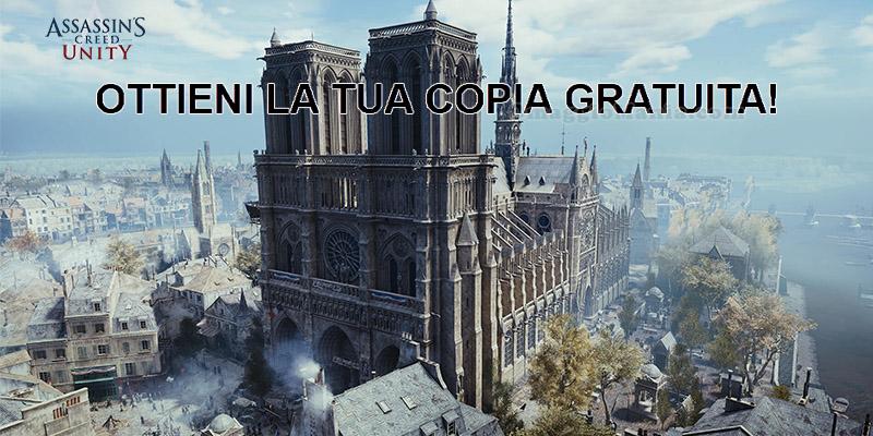 copia gratuita Assassin's Creed Unity Notre-Dame