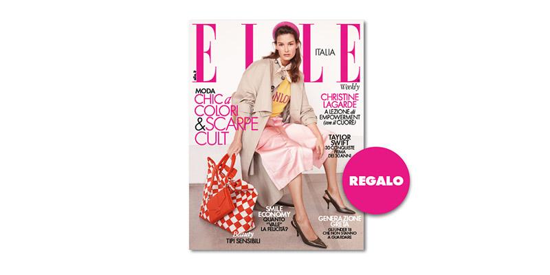 coupon omaggio Elle 15 2019