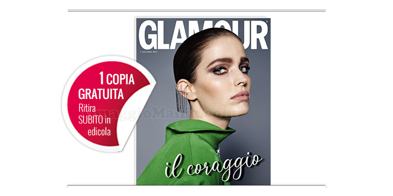 coupon omaggio Glamour 320