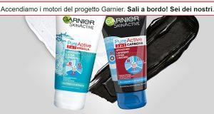 selezione tester Garnier Pure Active 3in1 TRND