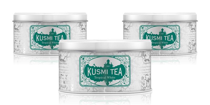 tè Kusmi Tea Tropical White