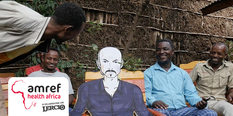 AMREF Health Africa con Lercio