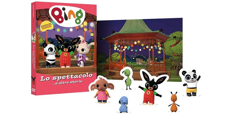 DVD con sorpresa Bing Lo spettacolo e altre storie
