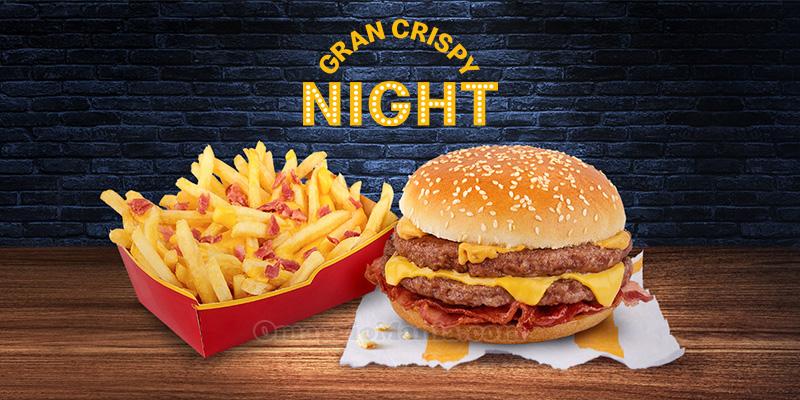 McDonald's Gran Crispy Night 2019