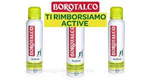Sfida la tecnologia di Borotalco Active
