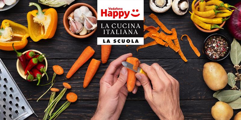 Vodafone Happy Friday corsi La Cucina Italiana