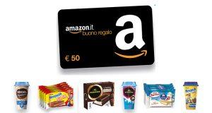 """42588ed1ec """"Estate 2019-Shake & Snack"""": vinci ogni giorno buoni Amazon da 50€"""