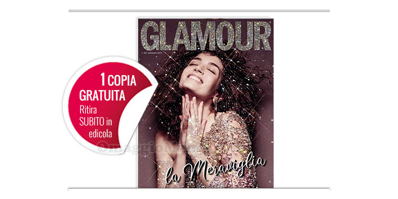 coupon omaggio Glamour 321