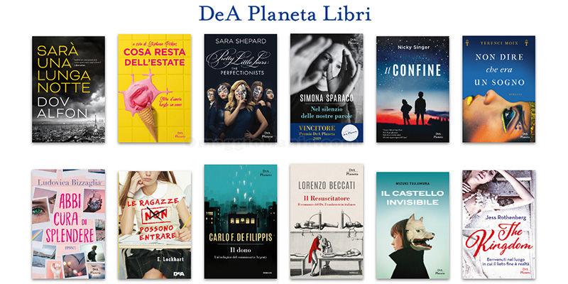 libri DeA Planeta
