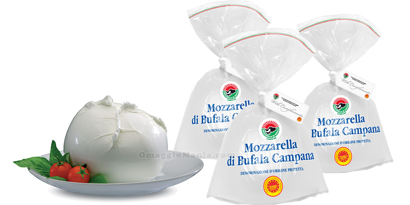 selezione Mozzarella di Bufala Campana dop
