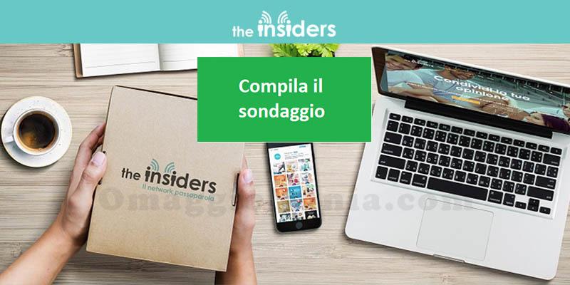 sondaggio The Insiders maggio 2019