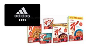 vinci voucher Adidas con Kellogg's Special K