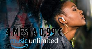 Amazon Music Unlimited 4 mesi 0,99€ Prime day 2019