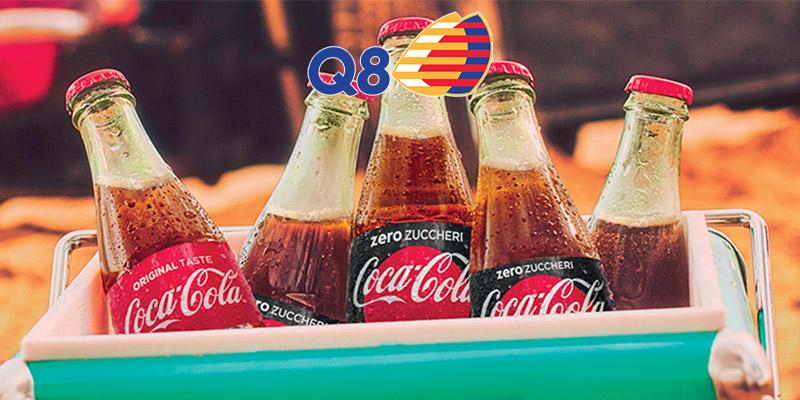 Coca Cola omaggio da Q8