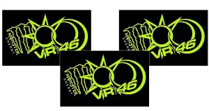Sticker Monster VR46