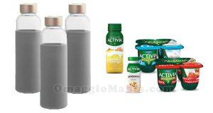 bottiglie H&H Lifestyle con Activia