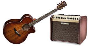 chitarra Faith e loudbox Fishman