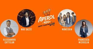 concorso Aperol 100 Happy Together Live