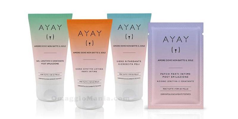 cosmetici intimi Ayay Yamamay prodotti