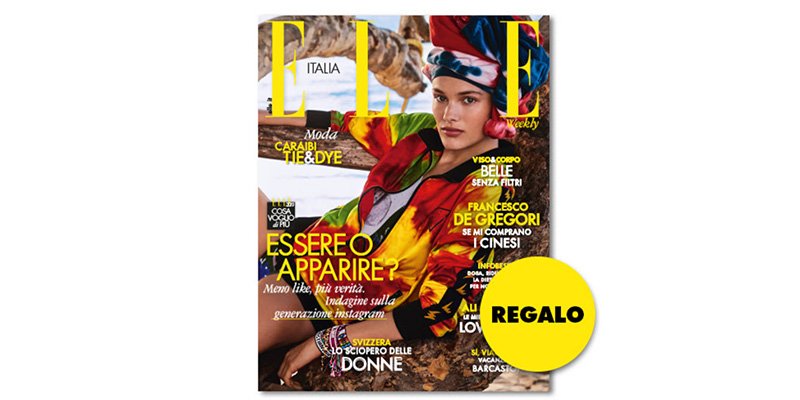 coupon omaggio Elle 22 2019