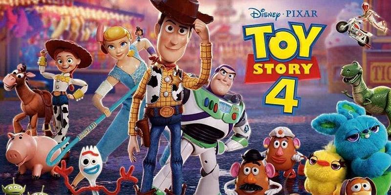 locandina film Toy Story 4