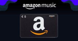 scarica App Amazon Music ricevi buono sconto 5 euro