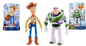 vinci action figures Toy Story 4 con Ludilabel