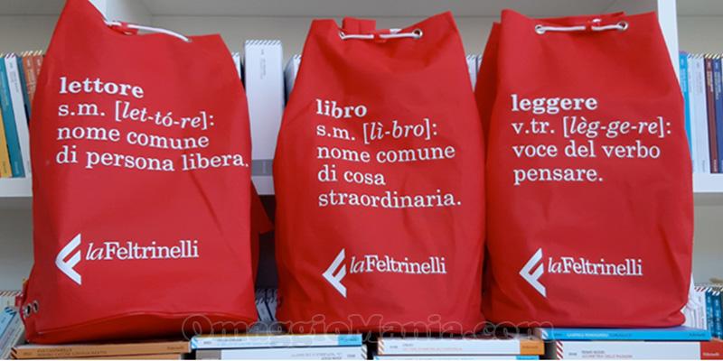 zaino La Feltrinelli omaggio