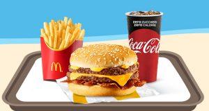 McDonald's Summerdays 2019 McMenu Large Crispy McBacon o McChicken