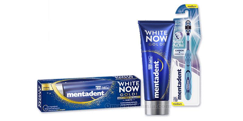 kit Mentadent White Now