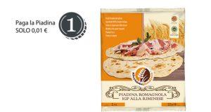 piadina romagnola Riccione Piadina a 1 centesimo