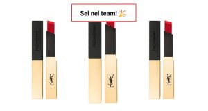 tester rossetti Yves Saint Laurent Rouge Pur Couture The Slim