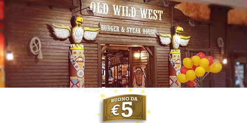 Old Wild West buono omaggio 5 euro