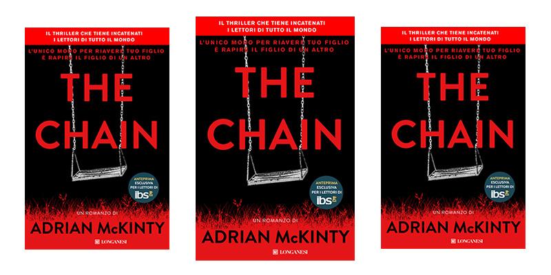 copia omaggio libro The Chain Adrian McKinty con IBS