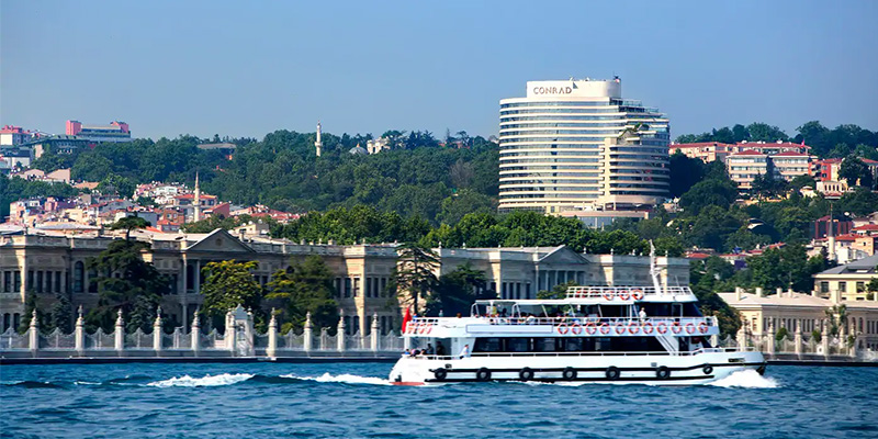 Instanbul Hotel Conrad Bosphorus