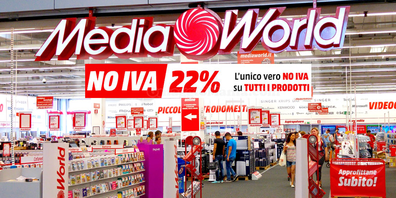 Mediaworld No Iva