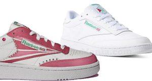 Reebok Club C 85 Limited Edition e Reebok Club C 85 con Reebok Sneaker Drop