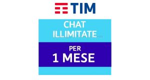 TIM Party chat illimitate per 1 mese