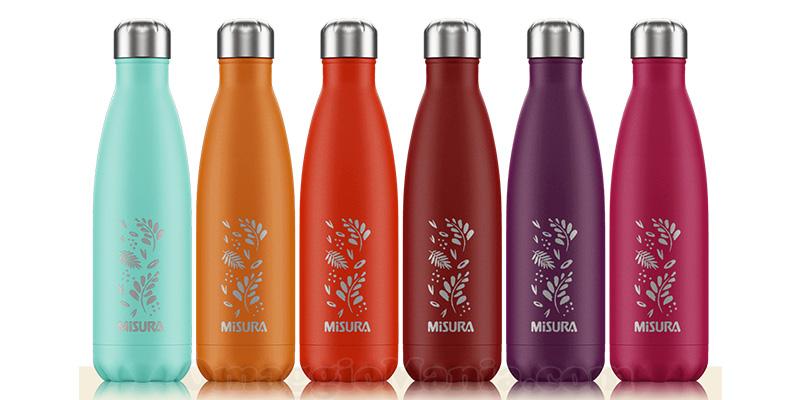 bottiglie termiche Misura by Chilli's